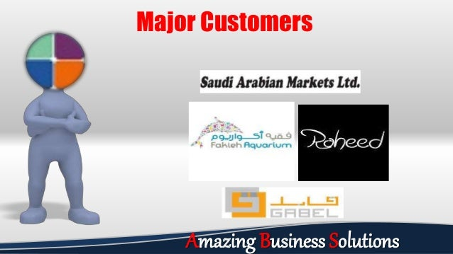 Major Customers Amazing Business Solutions