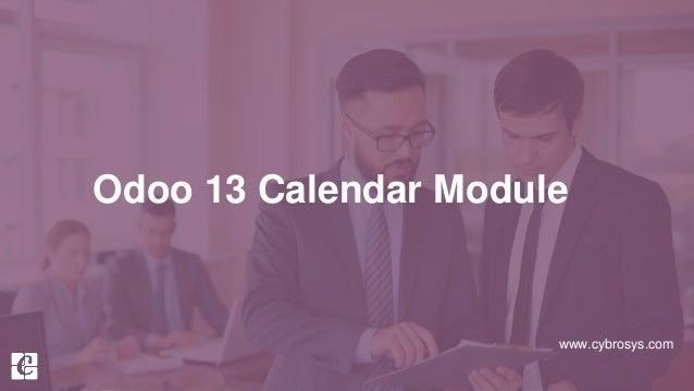 www.cybrosys.com Odoo 13 Calendar Module