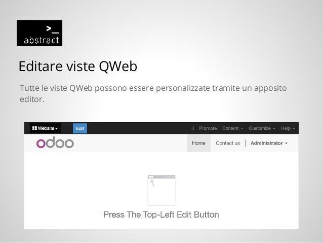 Odoo 8 0 ed il modulo website (CMS)