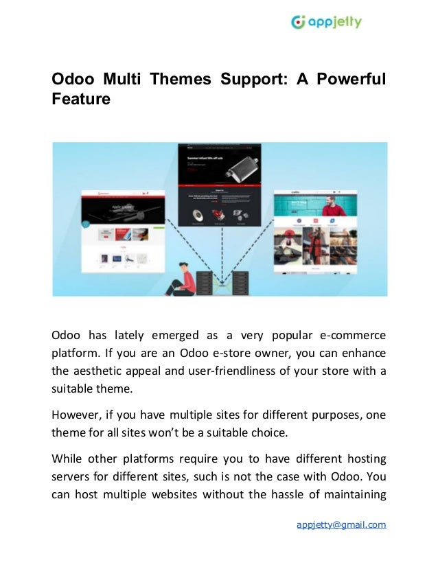 Odoo Multi Themes Support: A Powerful Feature Odoo has lately emerged as a very popular e-commerce platform. If you are an...