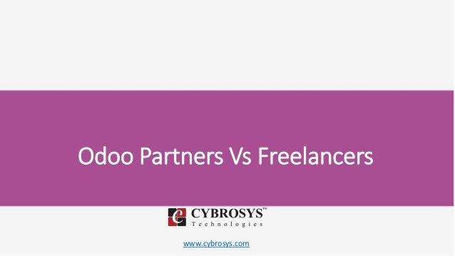 www.cybrosys.com Odoo Partners Vs Freelancers
