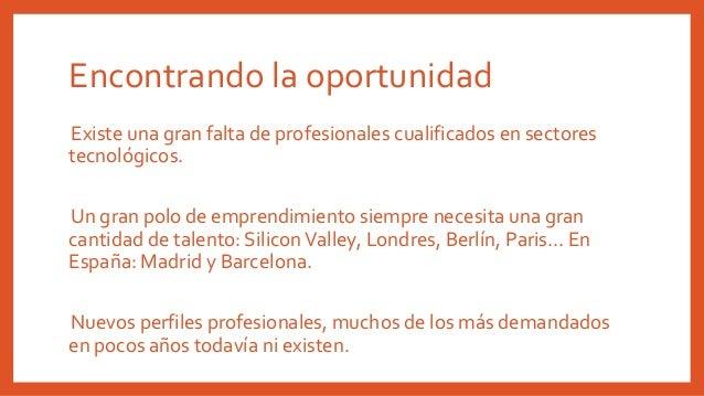 Emprendimiento en España y mercado laboral Slide 3