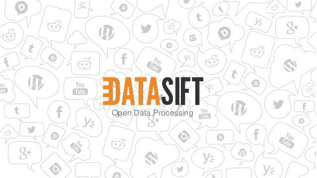 Open Data Processing