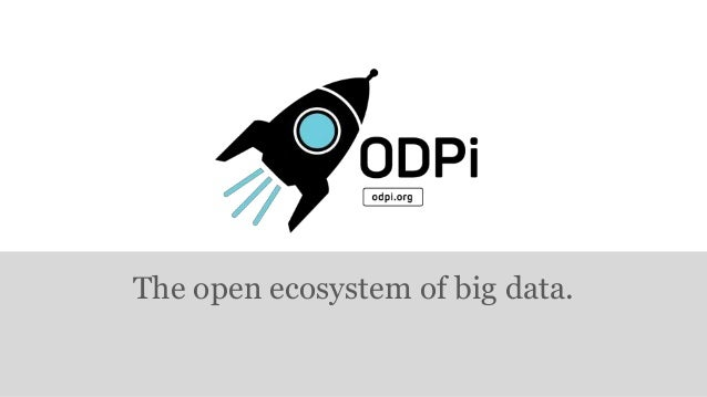 ODPi is Now Open for Business: Here's What it Means