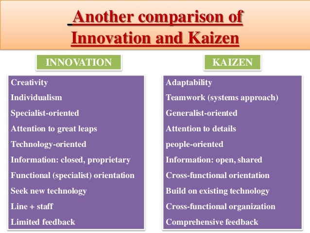"""kaizen impact on job satisfaction in manufacturing Has one comment to """"kaizen – a sino-japanese art-form, as much ethos, as judicious plan."""