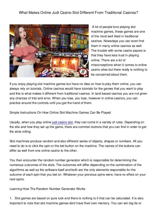 Why some people never win betting big on slot machines 2017