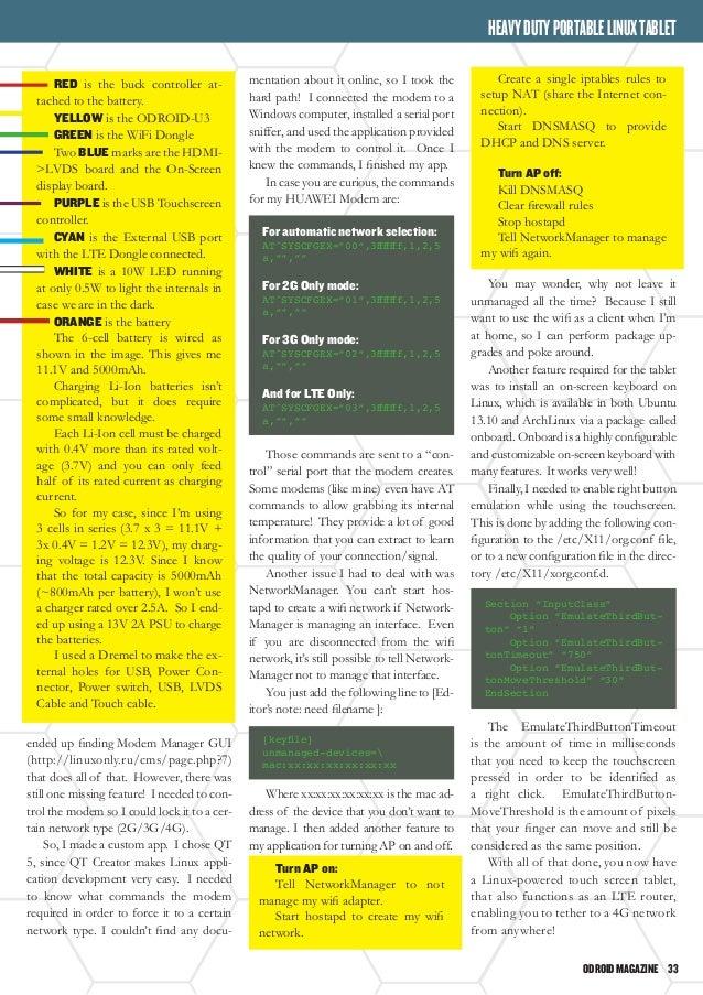 ODROID Magazine April 2014