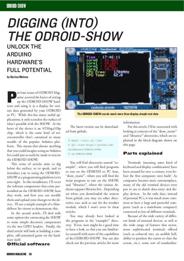 ODROID Magazine August 2014