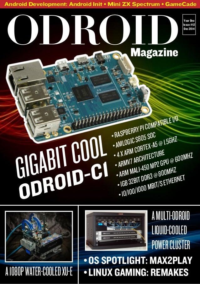 Pleasant Odroid Magazine December 2014 Wiring Digital Resources Indicompassionincorg
