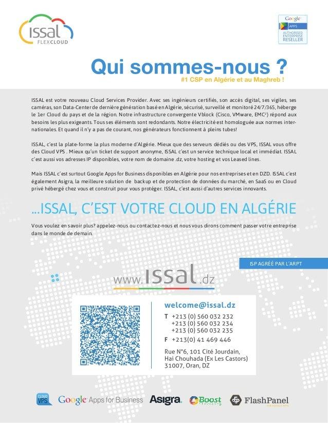 Google Apps for Business en Algérie, avec ISSAL Slide 2