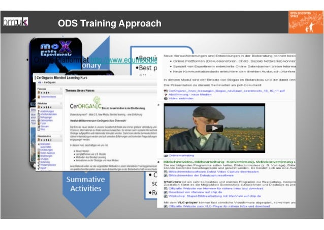 ODS Training Approach