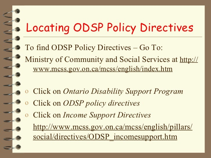 odsp application legal aid ontario