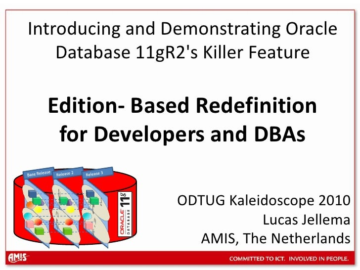 Release 2<br />Release 3<br />Base Release<br />Introducing and Demonstrating Oracle Database 11gR2's Killer FeatureEditio...