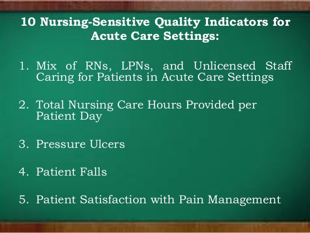 nursing sensitive indicators View task_i_nursing-sensitive_indicatorspdf from nursing bs c489 at western governors task i: nursing-sensitive indicators alexandra jaimes western governors.