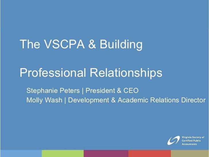 <ul><li>Stephanie Peters    President & CEO </li></ul><ul><li>Molly Wash    Development & Academic Relations Director </li...