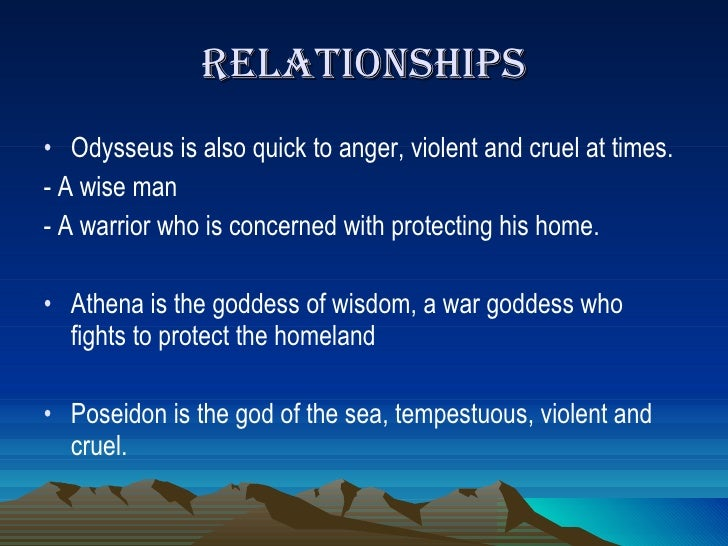 odysseus strengths and weaknesses What did odysseus think about his/her place in the group, as both leader and   appreciation that everyone has strengths and weaknesses, and that groups are.