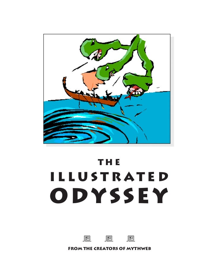 THEILLUSTRATEDODYSSEY FROM THE CREATORS OF MYTHWEB