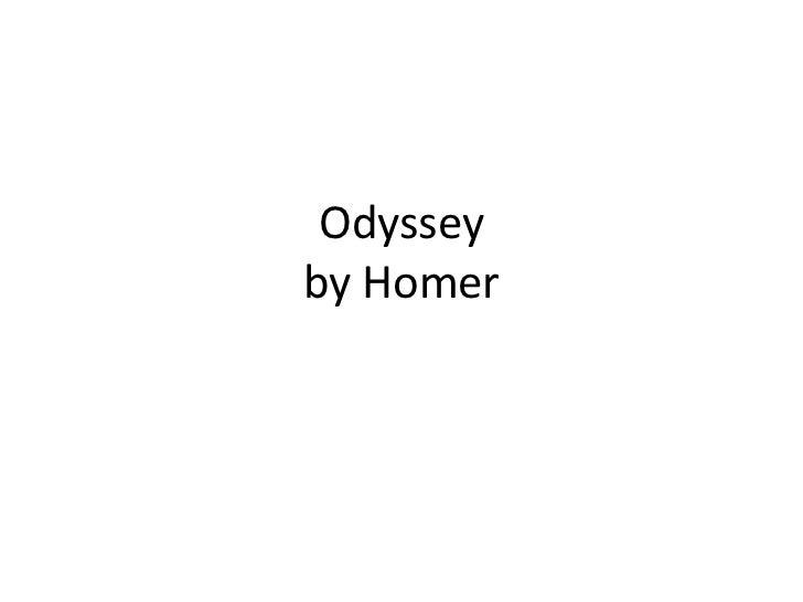 Odysseyby Homer