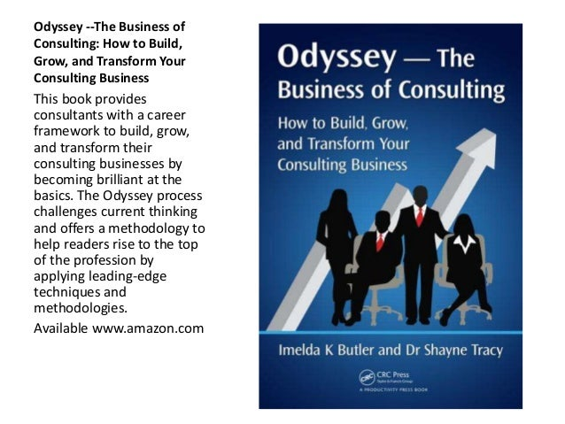 Odyssey: The Business of Consulting Slide 3