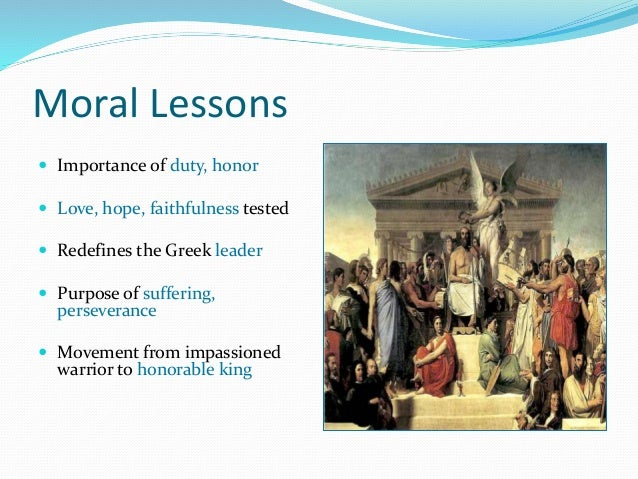 the lessons of the odyssey For teachers ancient greece for kids - the odyssey the odyssey - lesson  plans the odyssey (web english teacher) free presentations greek games.