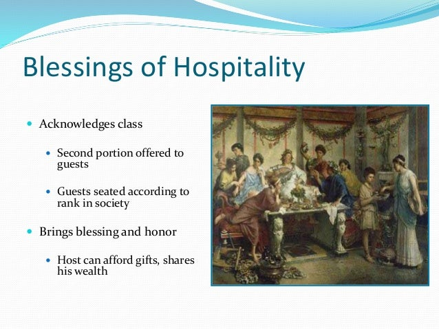 odyssey greek hospitality essay The odyssey theme: hospitality essay hospitality was so important in the ancient greek's lives relevant essay suggestions for the odyssey theme: hospitality.