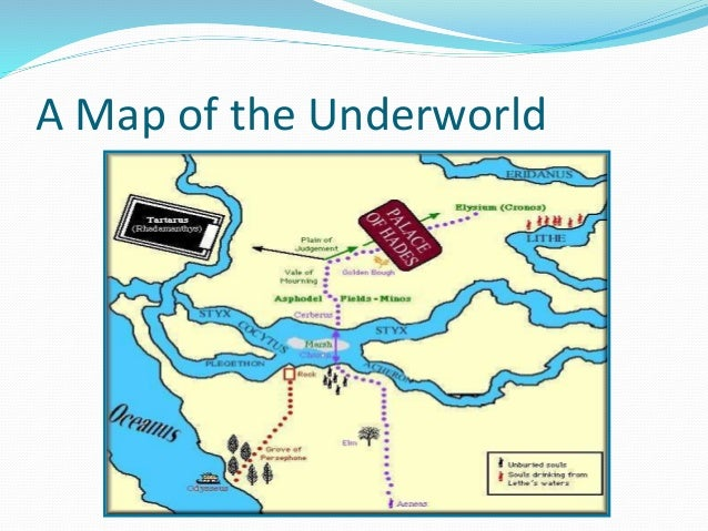 Rivers in the underworld