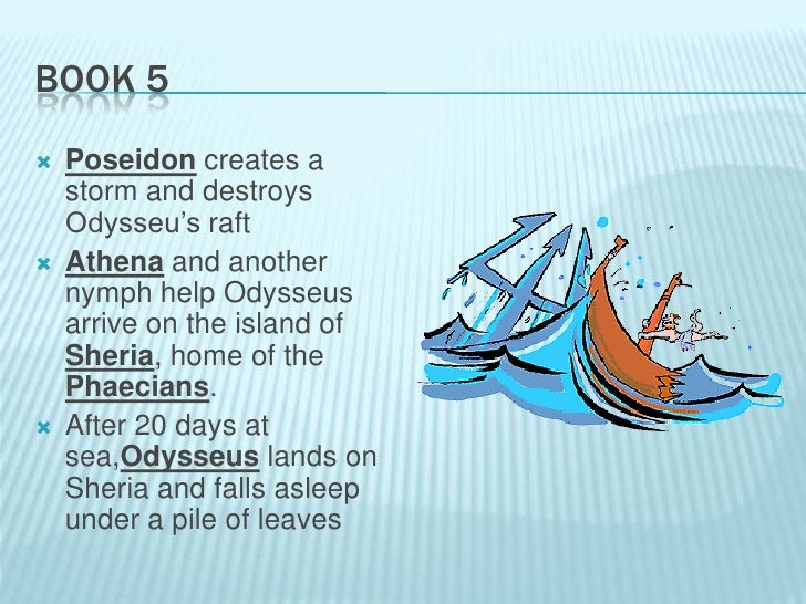 The odyssey book 5 summary