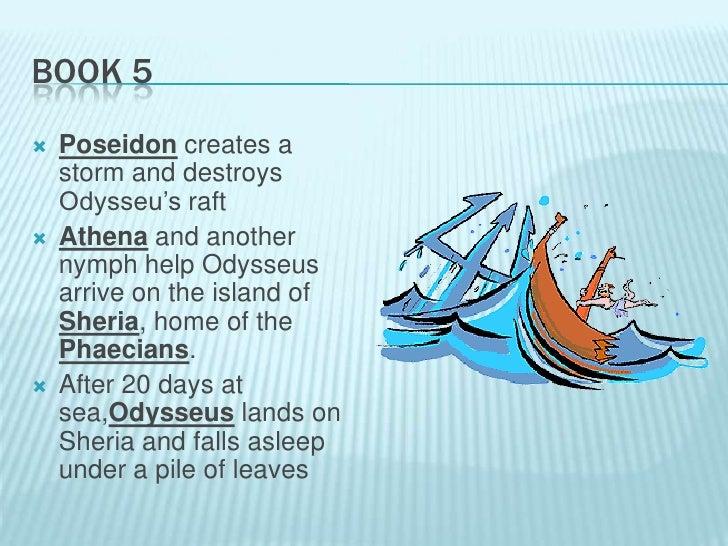 The odyssey book 5 summary