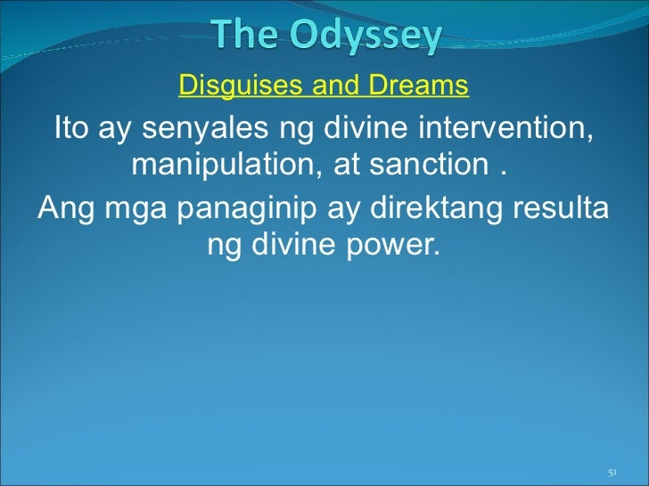 Fate In The Odyssey Essay Sample
