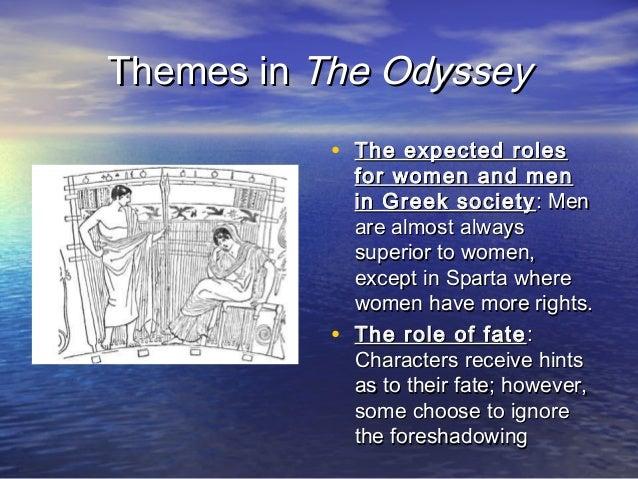 Role of women in odyssey