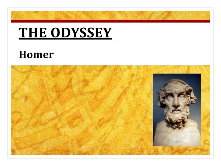 THE ODYSSEY<br />Homer<br />