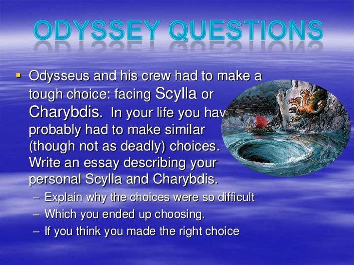 Personal odyssey essay