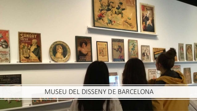 Barcelona Activa/Museu del Disseny visita 1r batx 18-19