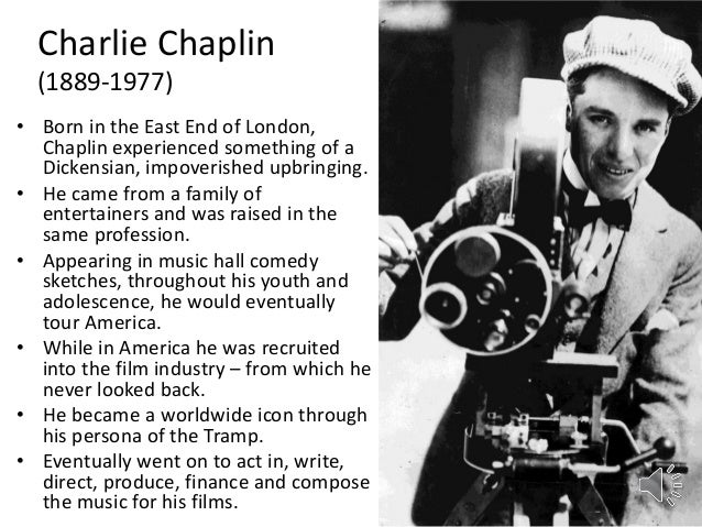 Charlie Chaplin: Astrological Article and Chart