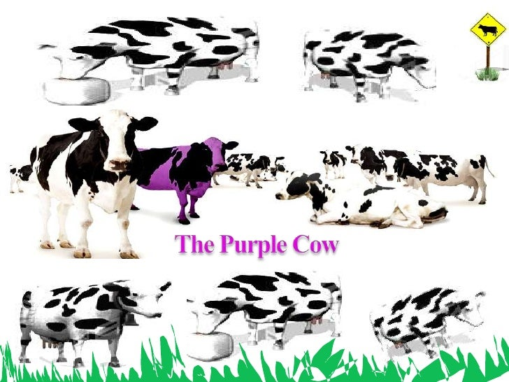 The Purple Cow<br />