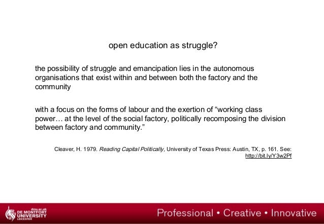 'a little more of a  politicised relation to  truth in affairs of  education, knowledge  and academic practice'