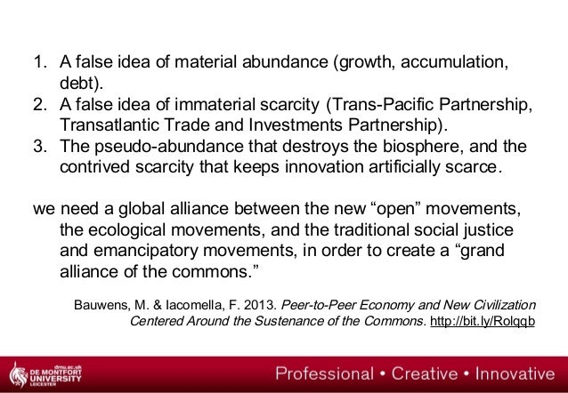 For a political economy of open education