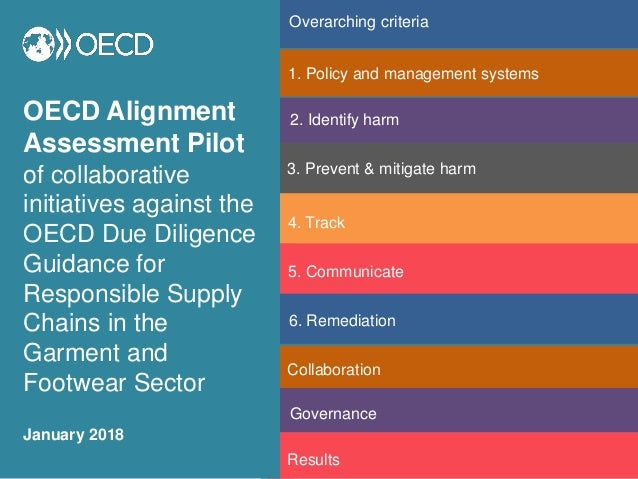 OECD Alignment Assessment Pilot of collaborative initiatives against the OECD Due Diligence Guidance for Responsible Suppl...