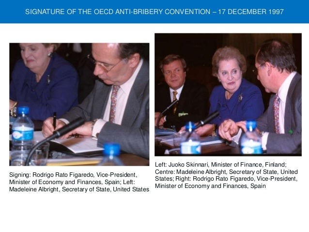 anti bribery convention and oecd Oecd anti bribery convention news: latest and breaking news on oecd anti bribery convention explore oecd anti bribery convention profile at times of india for photos, videos and latest news.