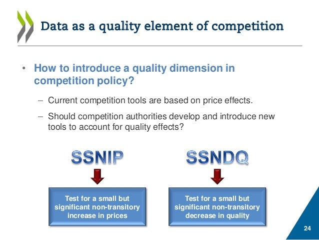 A discussion of competition policy