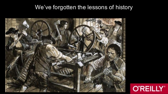 We've forgotten the lessons of history
