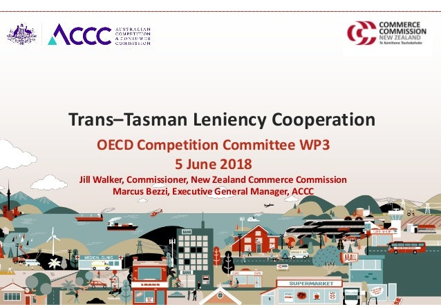 OECD Competition Committee WP3 5 June 2018 Jill Walker, Commissioner, New Zealand Commerce Commission Marcus Bezzi, Execut...