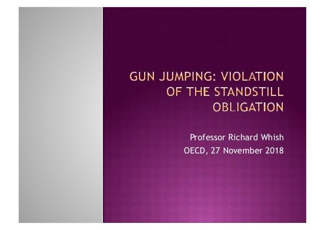 Professor Richard Whish OECD, 27 November 2018