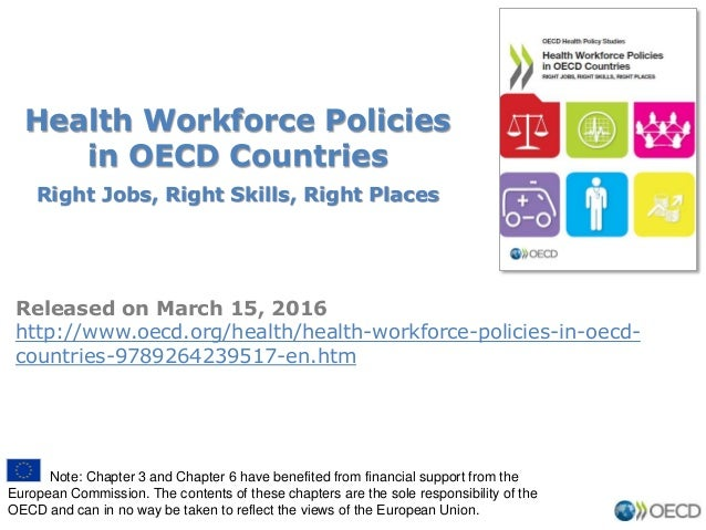 Health Workforce Policies in OECD Countries Right Jobs, Right Skills, Right Places Released on March 15, 2016 http://www.o...