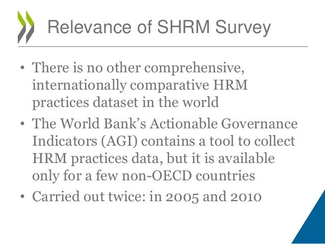 survey of human resource management Survey on strategic human resource management in central governments of oecd countries (2010) preliminary results paris, 07 november 2011 cornelia lercher.