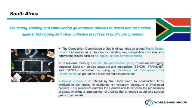 Small and developing competition agencies – WORLD BANK