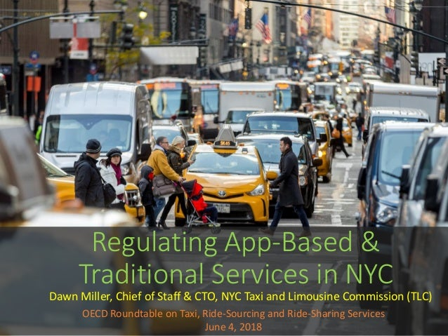 Taxi Ride Sourcing And Ride Sharing Services Miller June 2018 Oe
