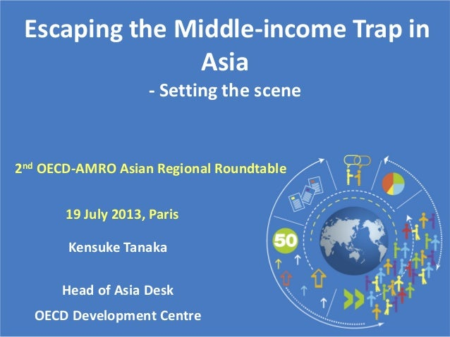 Escaping the Middle-income Trap in Asia - Setting the scene Kensuke Tanaka Head of Asia Desk OECD Development Centre 19 Ju...
