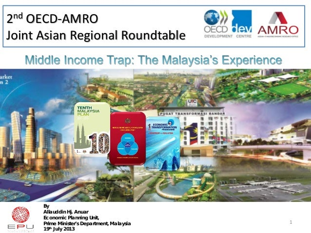 2nd OECD-AMRO Joint Asian Regional Roundtable By Allauddin Hj. Anuar Economic Planning Unit, Prime Minister's Department, ...