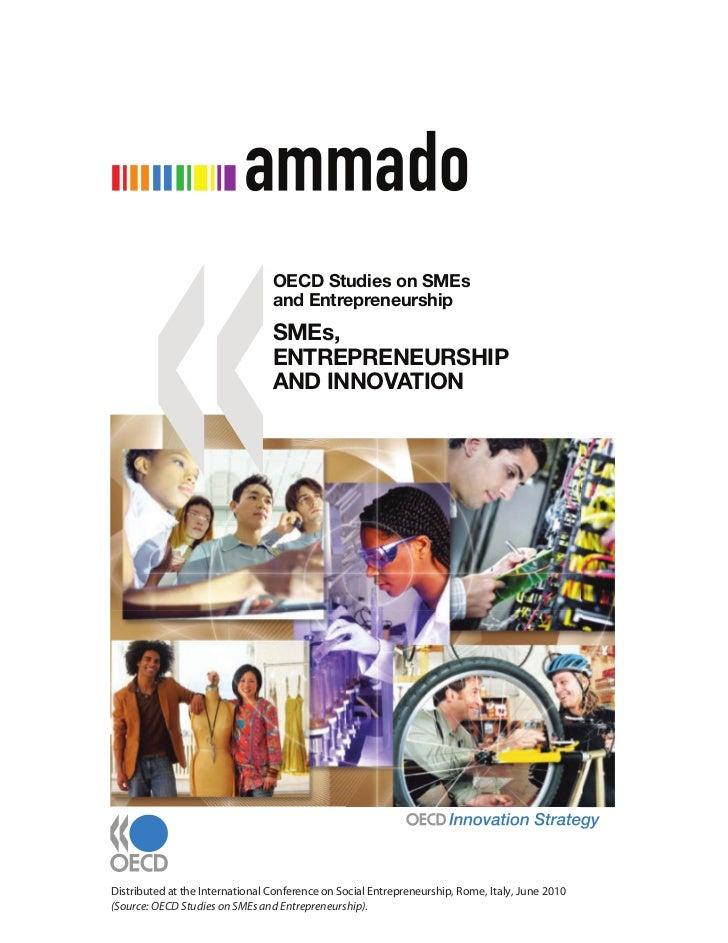 OECD Studies on SMEs                                 and Entrepreneurship                                 SMEs,           ...